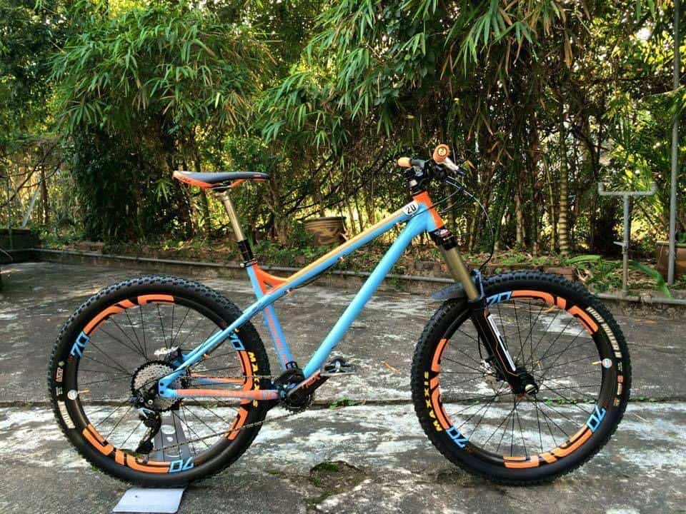 what is a Hardtail MTB