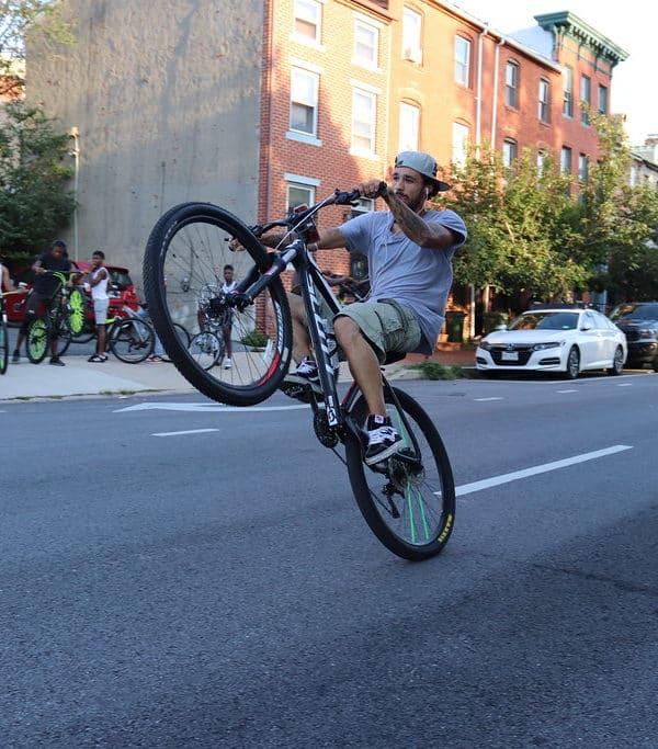 How to Wheelie a Mountain Bike