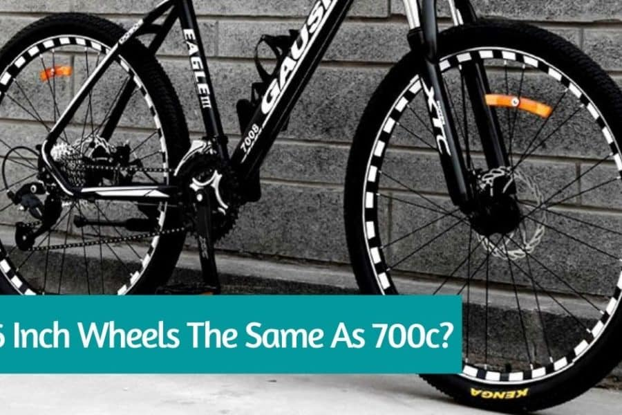 Are 26 inch wheels the same as 700c?