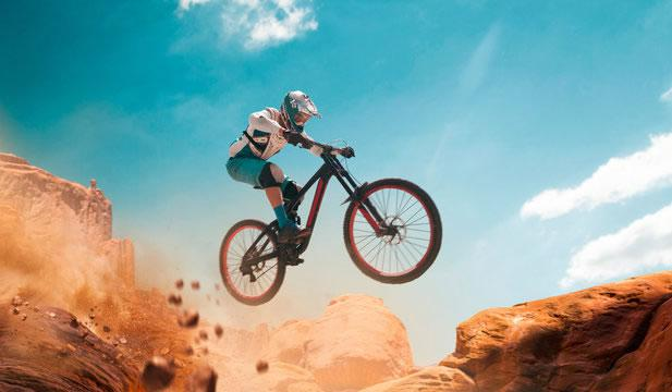 how to jump mountain bike