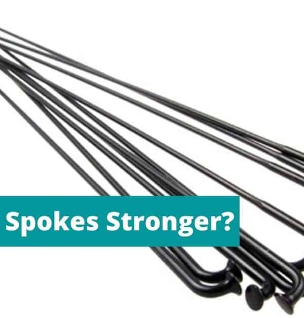 Are Butted Spokes Stronger