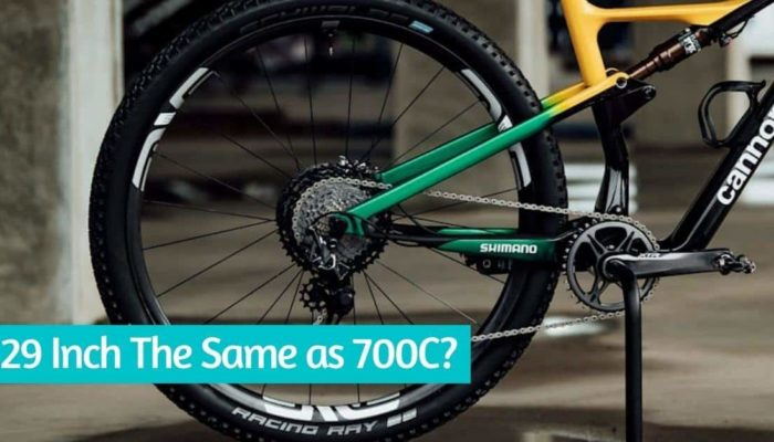 Is 29 Inch The Same as 700C?