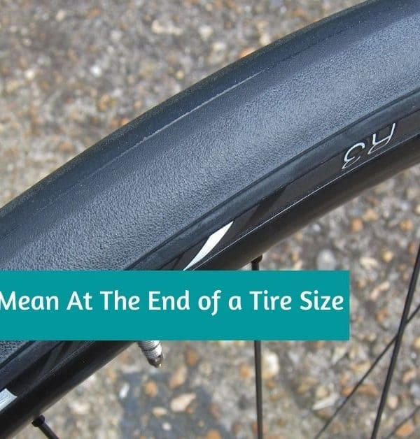 What Does The C Mean At The End of a Tire Size