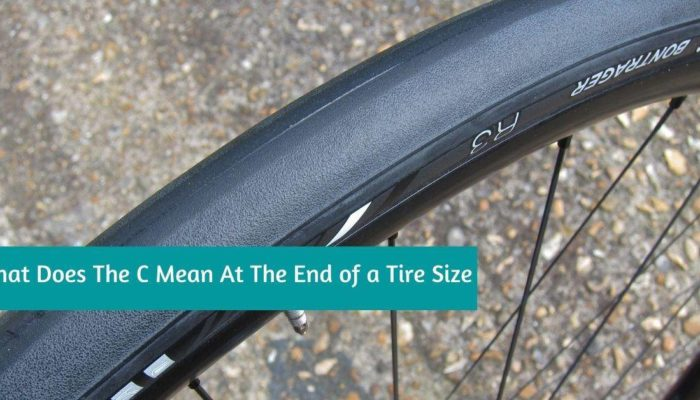 What Does The C Mean At The End of a Tire Size?